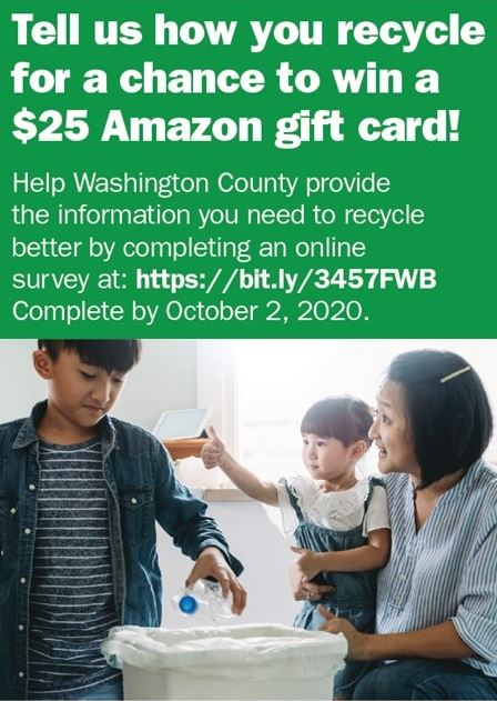 Washington County Recycle Survey (IMAGE)