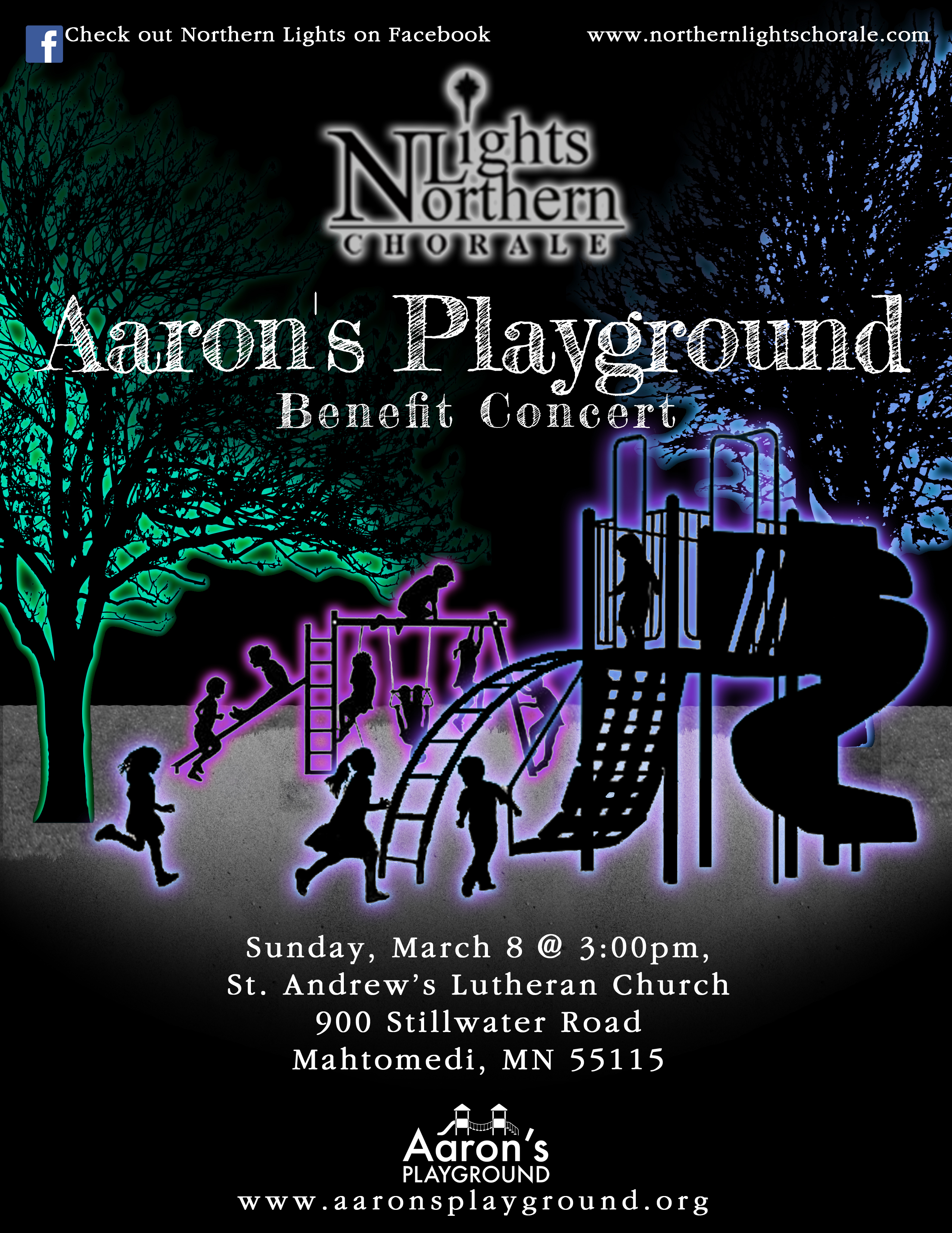 Aarons Playground Benefit Poster (IMAGE)